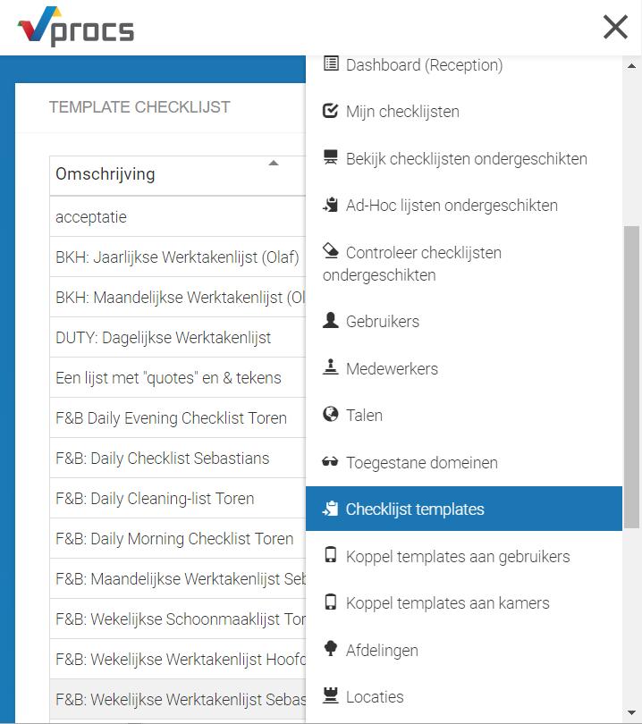 Het Invoeren Van Een Checklijst Via Ms Excel Qics Service Center